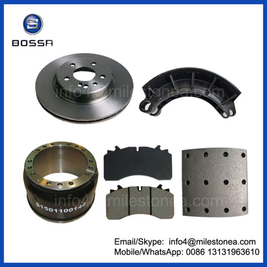 Iron Casting Part Brake Shoe 6594200519 for Mercedes Benz Truck, North Benz Truck pictures & photos