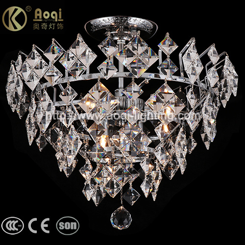 Modern Design K9 Crystal Clear Pendant Light