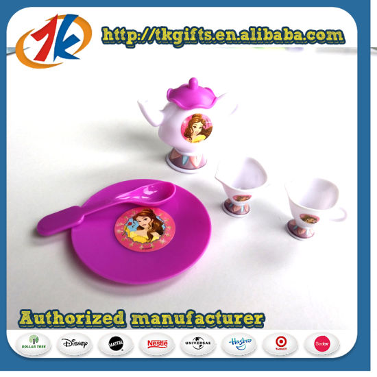 New Design Plastic Mini Simulation Tea Set Toy