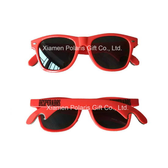 Personalized Promotional UV400 Sunglasses with Bottle Opener pictures & photos