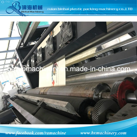 Economic Non Woven Flexo Printing Machine pictures & photos