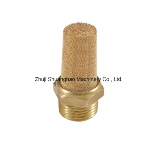 Brass Muffler, 1/2silencer, Bsl-04 1/2 Solenoid Valve Connector pictures & photos