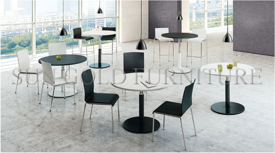 China Modern Small Round Melamine Office Meeting Table SZMT - Small round meeting table