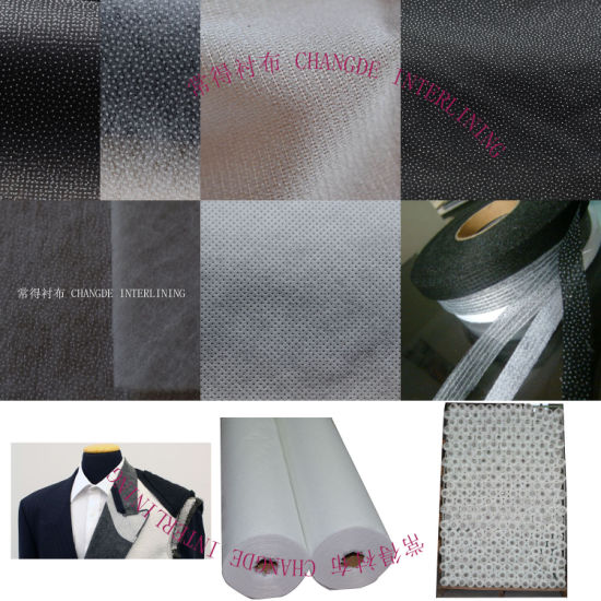 Polyester Woven Fusible Interlining 8036sf
