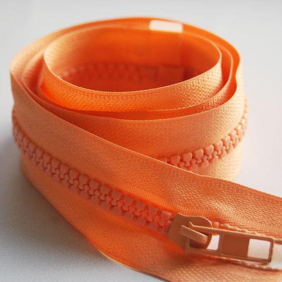 5# Orange Resin Zipper with Stock Price