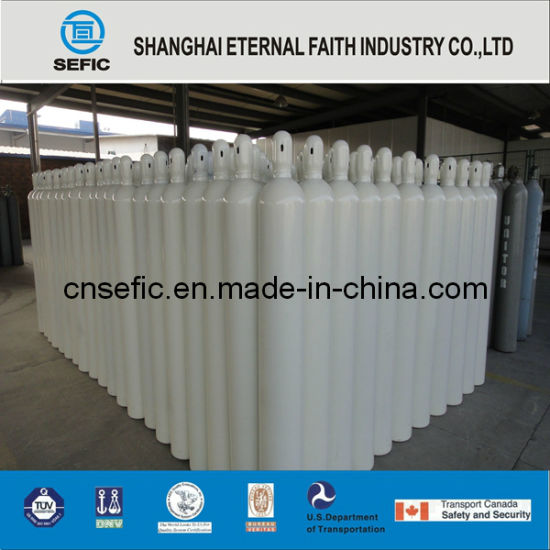 Seamless Steel High Pressure Gas Cylinder (ISO9809 219-40-150) pictures & photos