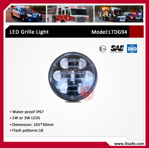 LED Fog Emergency Warning Light (LTDG94) pictures & photos