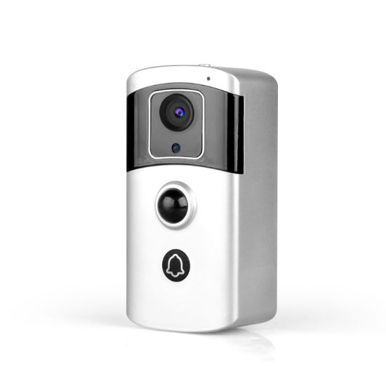 1080P WiFi Video Door Phone with 7650 Ma Polymer Lithium Battery 2MP Night Vision Video Doorbell WiFi pictures & photos