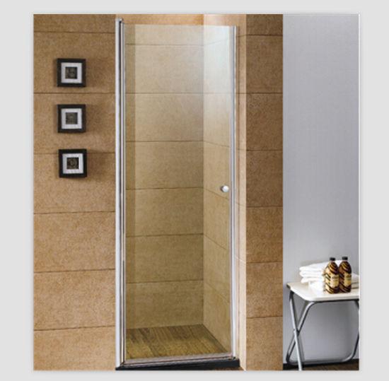 China Good Cheap Single Door Axis Pivot Shower Door Screen - China ...
