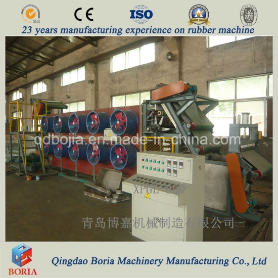 Blown Film Line, Batch off Cooler, Rubber Sheet Cooling Machine pictures & photos