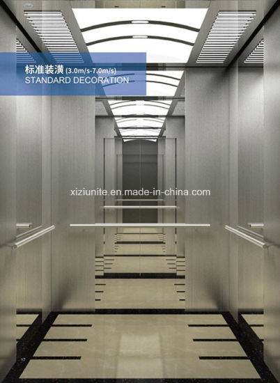 High Speed Safe & Low Noise Passenger Elevator pictures & photos