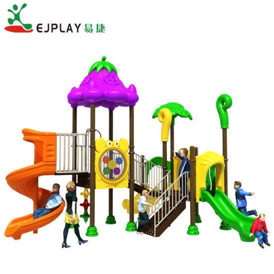 2018 Hot Selling Vegetable Theme Outdoor Children Amusement Park Kids Playground