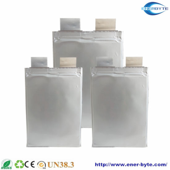 High Discharge Rate 35c 3.7V 2.6ah Lithium Battery Pouch Cell