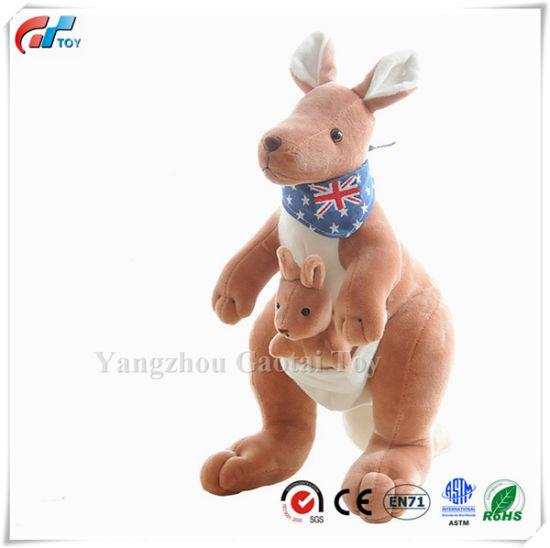"11.8"" Kangaroo Stuffed Plush Animal Toy for Promotion"