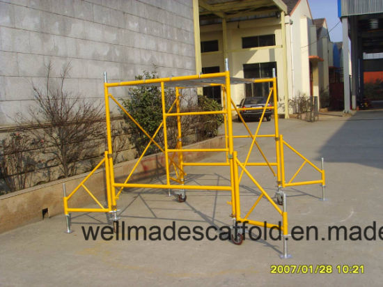1255a542c9a China Mobile Scaffold Tower Parts H Frame Outriggers - China ...