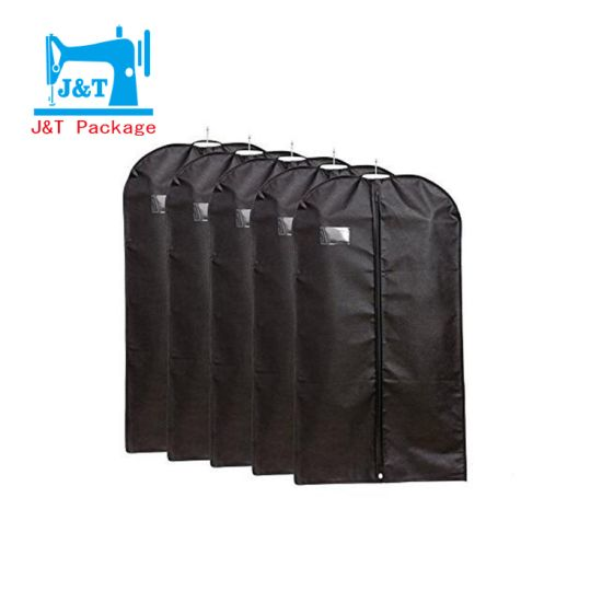 6df8d5a30e7 Factory Wholesale Custom Logo Non Woven Reusable Fold-Able Suit Cover Garment  Bag