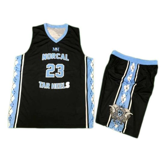 China Customized Basketball Jersey Uniform With Your Logo Printed