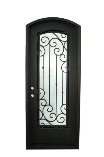 China New-Style High Quality Safety Wrought Iron Doors pictures & photos