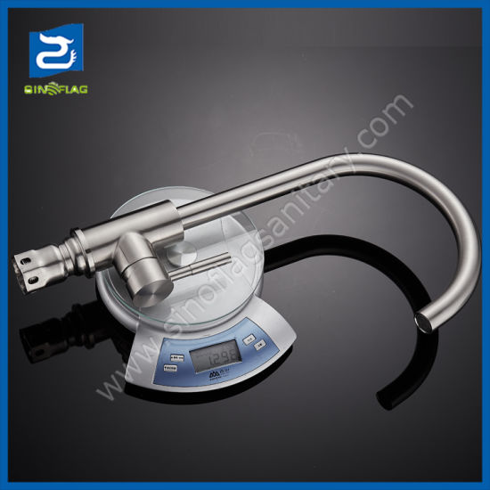 China Hot Sales Inox Stainless Steel 304 Kitchen Tap Faucet 6 75USD