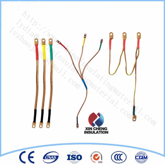 Portable Telescopic Grounding Rod with Earth Clamp and Earth Wire