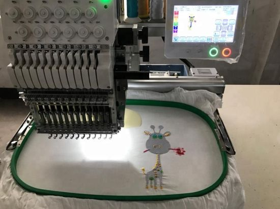 Newest Single Head 6/9/12/15 Needles Computerized Embroidery Machine Price in China Similar as Tajima and Brother One Head Embroidery Machine Prices
