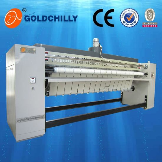 3 Meters Gas Heating Flatwork Ironer Front to Front