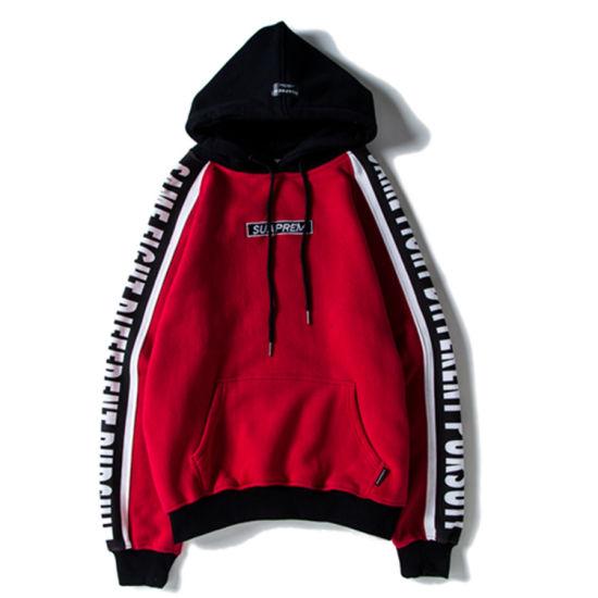 Hip-Hop Streetwear Custom Brand Fashion Man Hoodie
