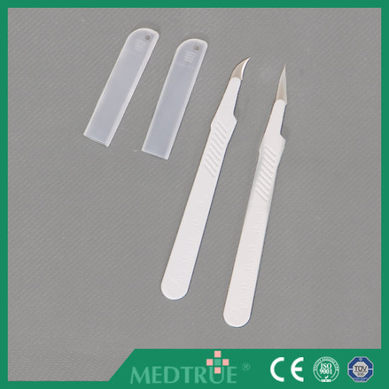CE/ISO Approved Medical Disposable Stitch Cutter Blade (MT58057001) pictures & photos