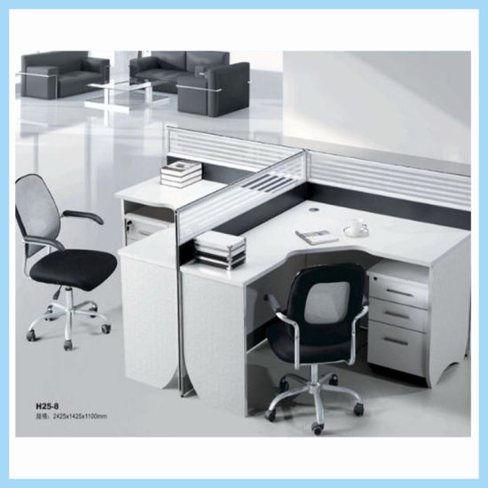 Office Desk Table Workstation With Wide Platform Removable Keyboard Tray  For Laptop