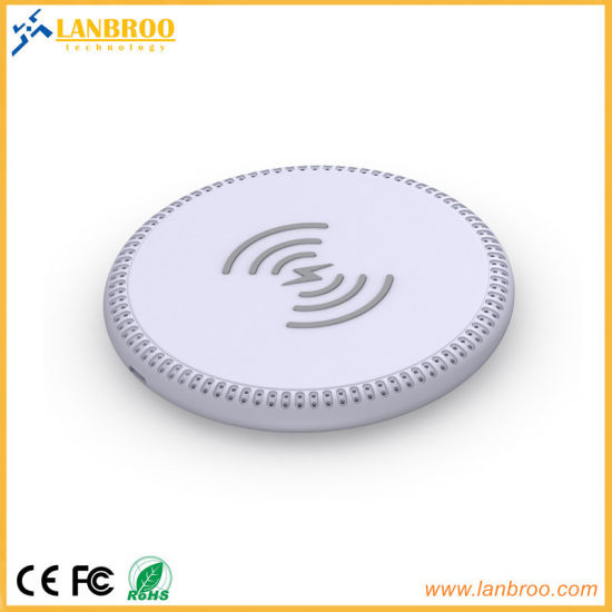 Rubber Cell Phone Wireless Charger Pad pictures & photos