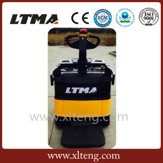 Electric Powered Pallet Truck 2 Ton and 2.5 Ton Capacity pictures & photos