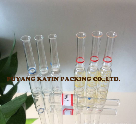 Clear Glass Ampoules for Pharmaceutical Packing pictures & photos