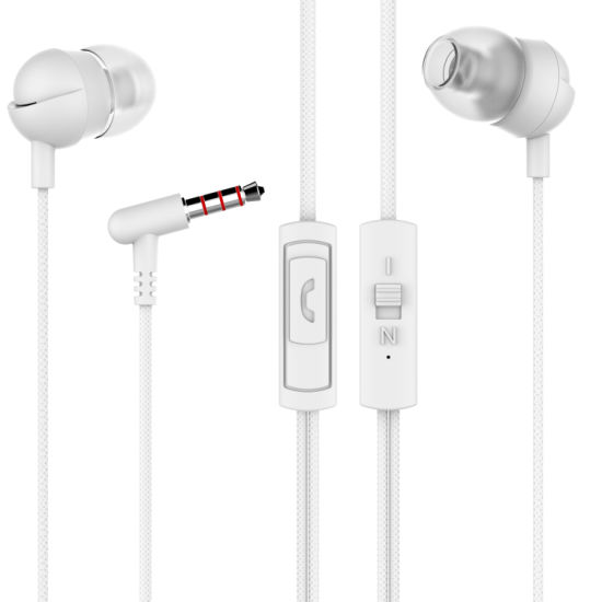 High Sound Factory Wholesale Wired in-Ear Tbe Wired Headphone