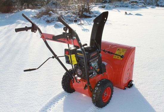196cc Recoil Start Gasoline Snow Blower pictures & photos