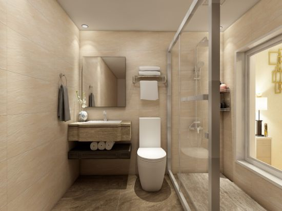 China Prefab Bathroom Set with Shower Enclosure for Hotel - China ...
