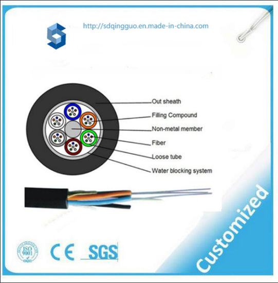 b791763a0e Duct Use Antirodents Single Model GYFTY Optical Fiber Cable with 72 Core