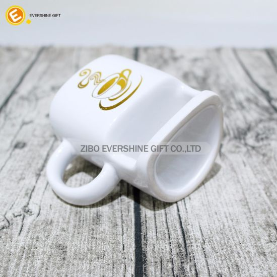 China Biscuit Pocket Ceramic Coffee Tea Cup for Gift - China Gift ...