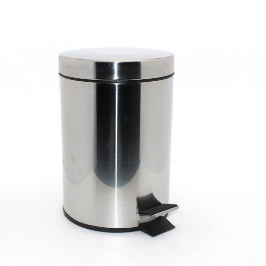 Stainless Steel Pedal Dustbin for Public Home Hospital Use