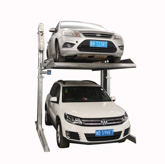 High Quality Hydraulic Two Column Car Parking Lift with CE
