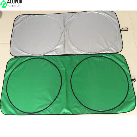 Collapsible Sunshade for Car Windshield with Bonus Steering Wheel