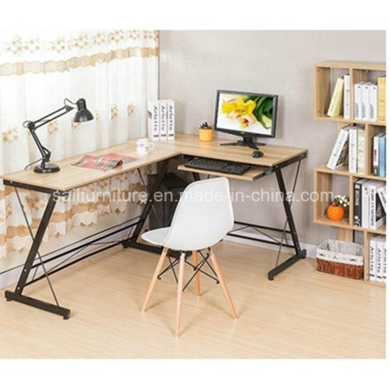 Office Furniture Modern Corner Computer Table