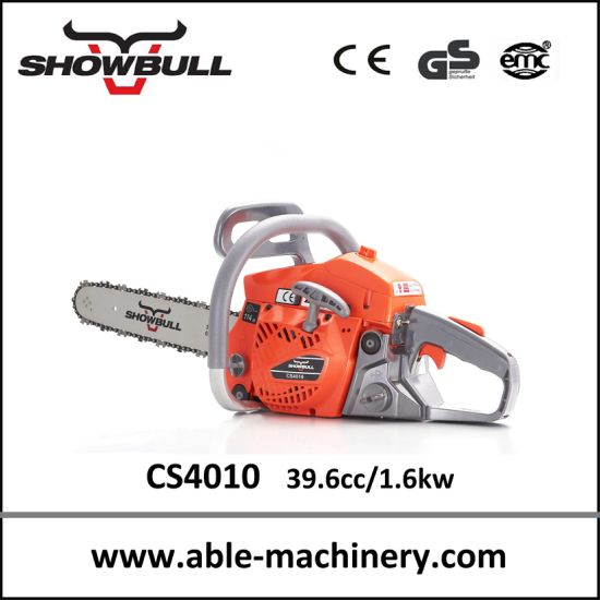Best Selling Professional Petrol Machines Chainsaw 4010 pictures & photos