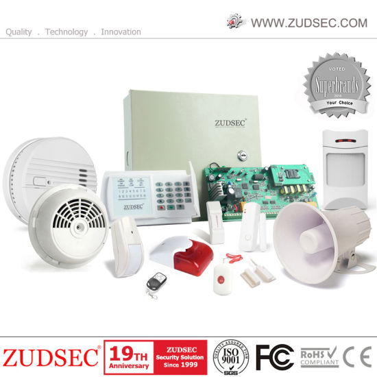 SMS GSM Home Alarm System with Dual Antenna