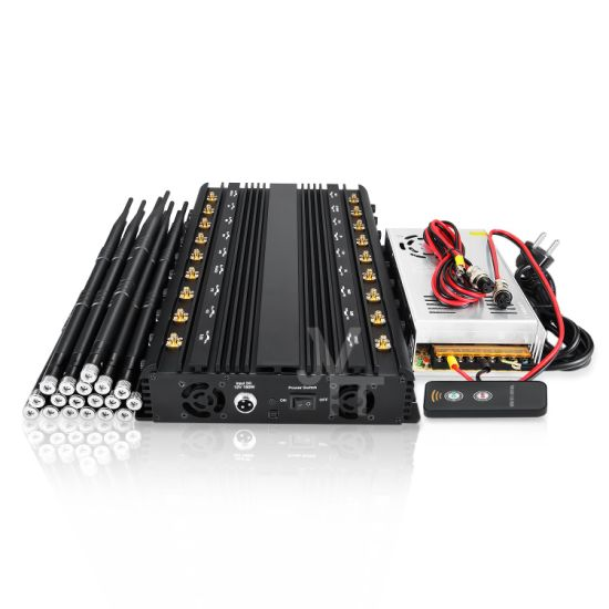 World First Cell Phone Signal Jammer Blocking 5.8g WiFi GSM GPS RF Signal Jammer with 18 Antennas pictures & photos