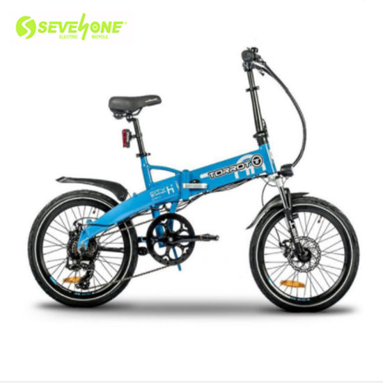 Hot Sale 20 Inch 36V Foldable Electric Bike with Hidden Lithium Battery