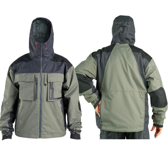 Outdoor Windproof Waterproof Breathable Fishing Jackets