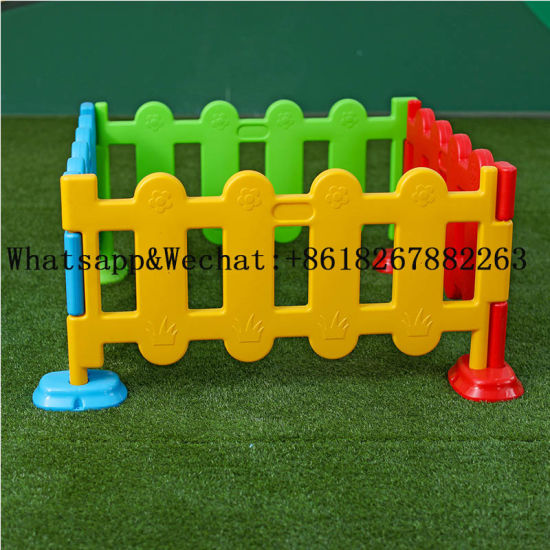 Colorful Kids Plastic Fence for Garden