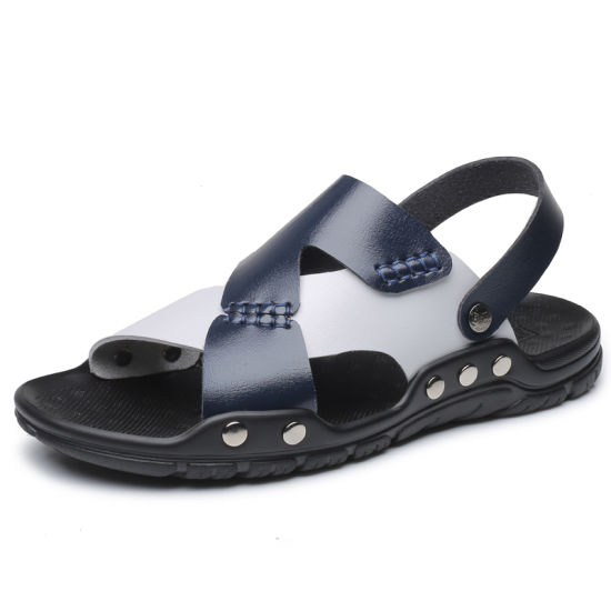 Explosive Men's Beach Shoes, Large Slippers, Fashion and Creative Trend Men's Sandals
