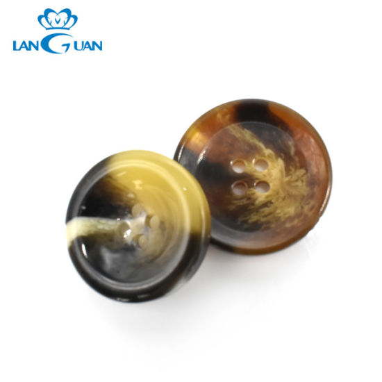Factory Price Customize Plastic Resin Button 2 Holes 4 Holes