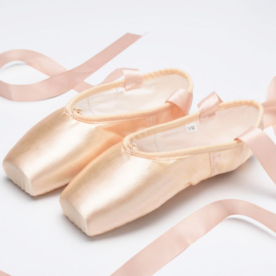 Champagne Ballet Dance Shoes Dancing Training Shoes for Wholesale